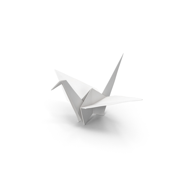 Origami: Crane PNG & PSD Images
