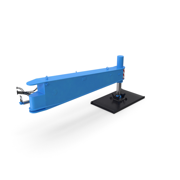 Industrial Equipment: Crane Outrigger Large Blue PNG & PSD Images