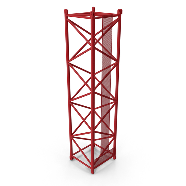 Crane S Intermediate Section 12m Red PNG & PSD Images