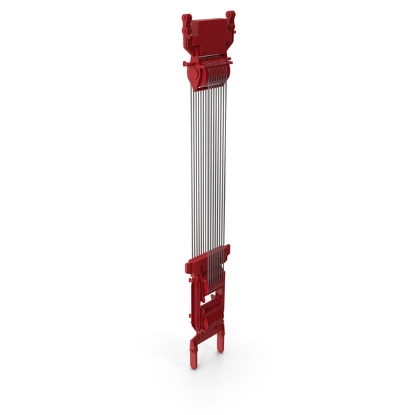 Crane Spool Connector Red PNG & PSD Images