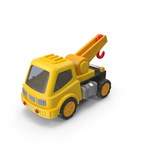 Toy Trucks: Crane Truck PNG & PSD Images