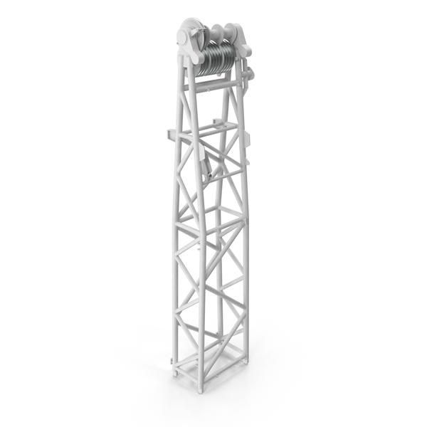Crane WA Frame 1 Head Section White PNG & PSD Images