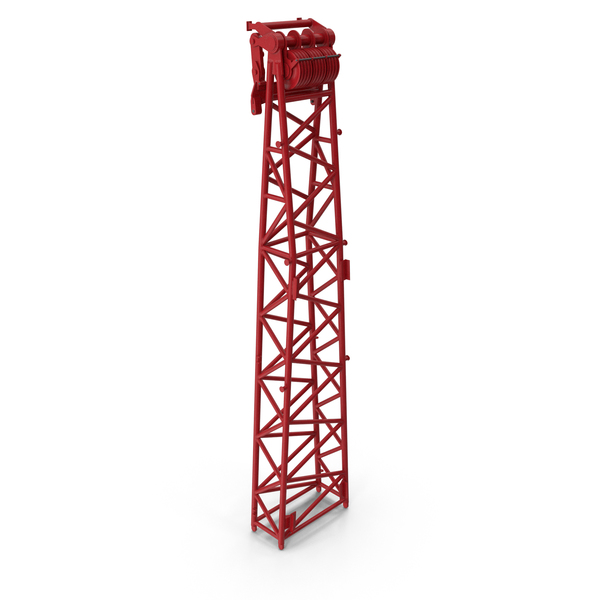 Crane WA Frame 2 Head Section Red PNG & PSD Images