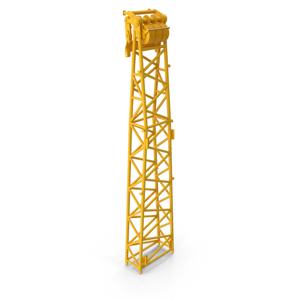 Crane WA Frame 2 Head Section Yellow PNG & PSD Images