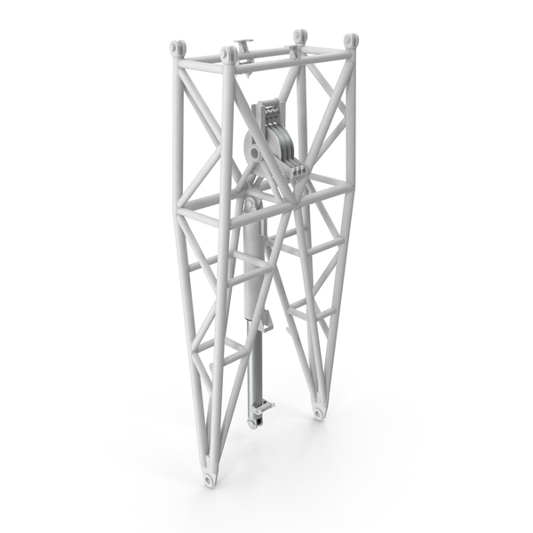 Crane WA Frame Pivot Section White PNG & PSD Images