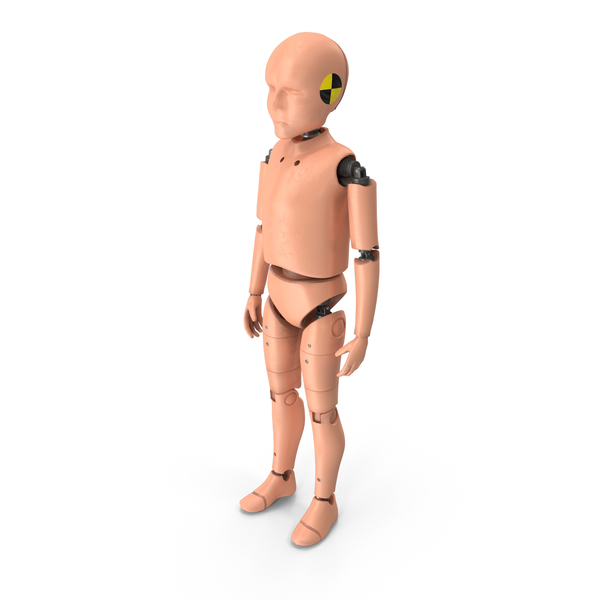 Crash Test Dummy Child PNG & PSD Images