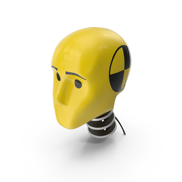 Crash Test Dummy Head PNG & PSD Images