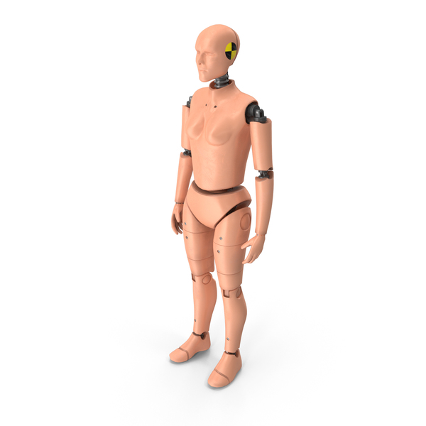 Crash Test Dummy Woman PNG & PSD Images