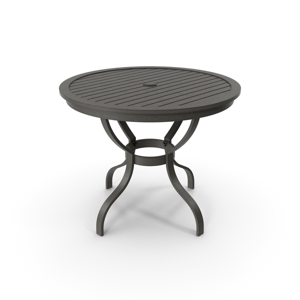 Crate and Barrel - Meridian Cafe Dining Table PNG & PSD Images