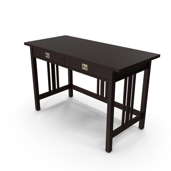 Crate&Barrel - Landon Desk PNG & PSD Images