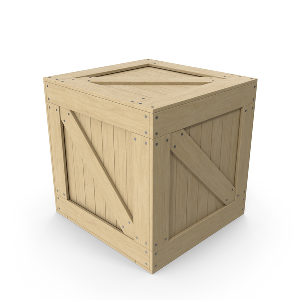 Crate Cargo Box PNG & PSD Images