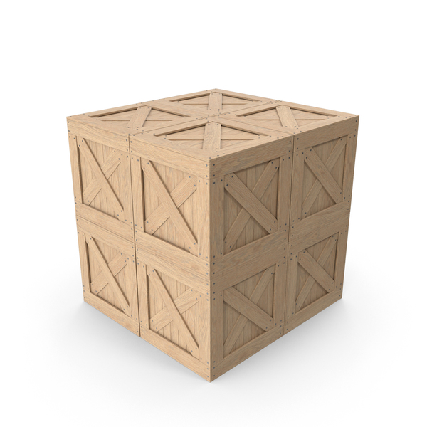 Crate Cargo Boxes PNG & PSD Images