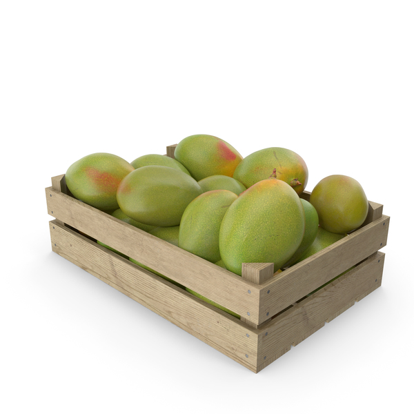 Crate of Mangoes PNG & PSD Images