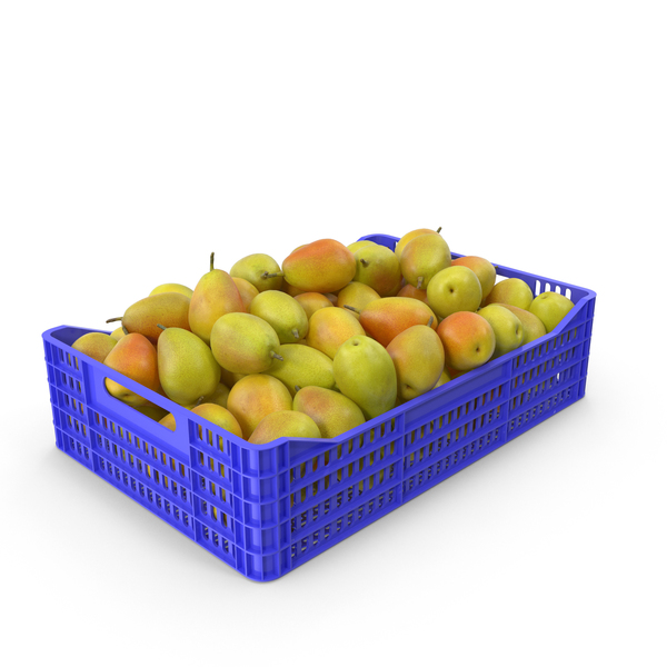 Crate of Pears PNG & PSD Images