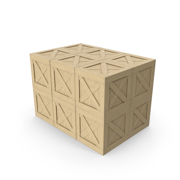 Crates Cargo Boxes PNG & PSD Images