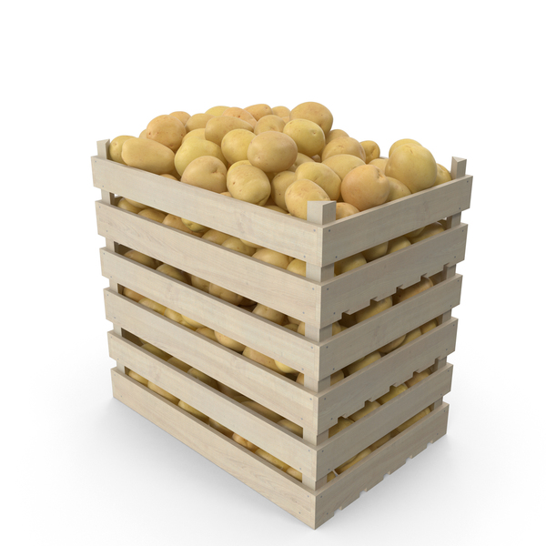 Crates of Potatoes PNG & PSD Images