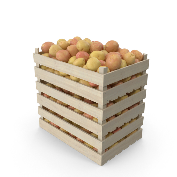 Potato: Crates of Potatoes PNG & PSD Images