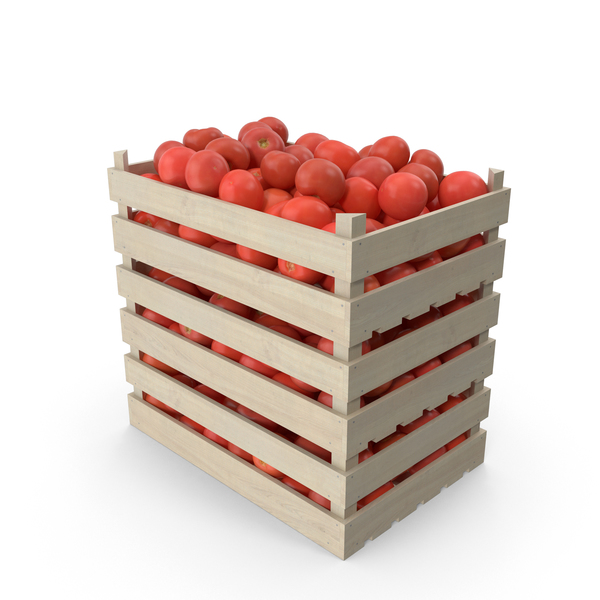 Tomato: Crates of Tomatoes PNG & PSD Images