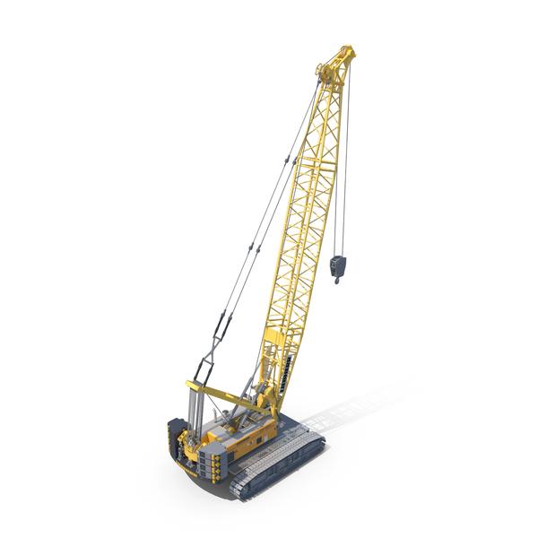 Crawler Crane Liebherr HS PNG & PSD Images