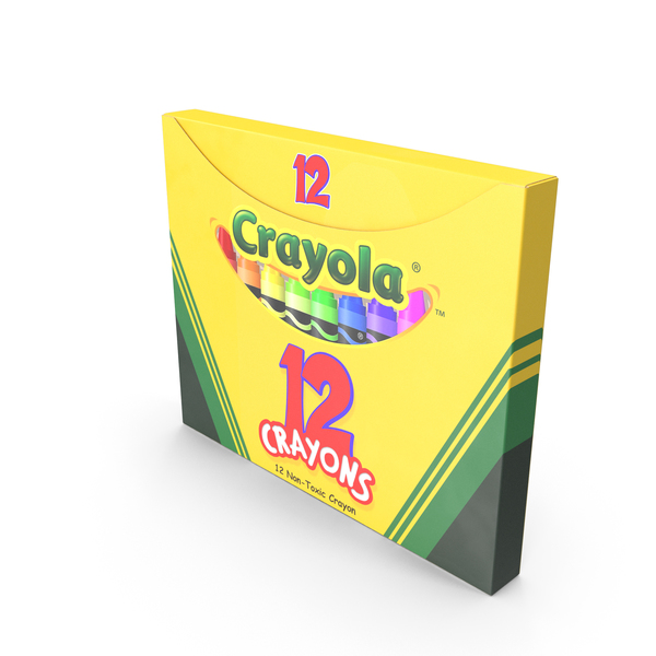 Crayons Box 12 Count PNG & PSD Images
