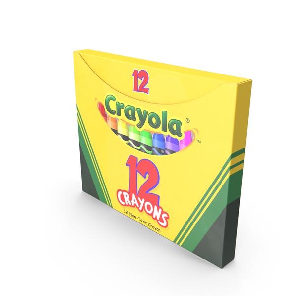Crayon: Crayons Box 12 Count PNG & PSD Images