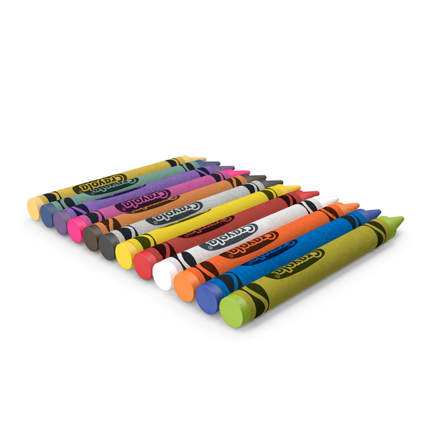 Crayons Set 12 Count PNG & PSD Images