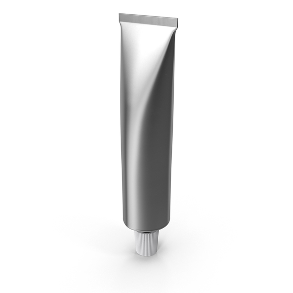 Cream Tube Metal Object