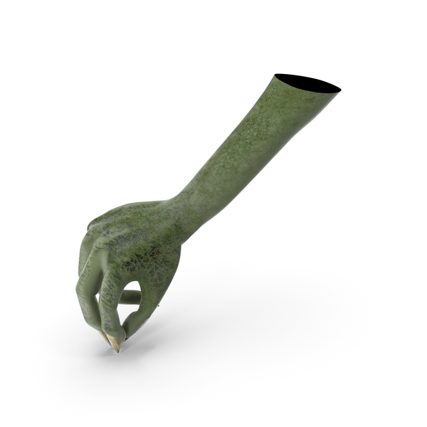 Creature Hand Pouring Pinch Pose PNG & PSD Images