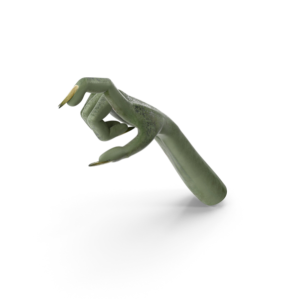 Creature Hand Single Object Hold Pose PNG & PSD Images