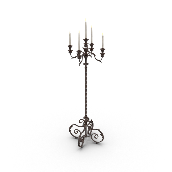 Creepy Candelabra PNG & PSD Images