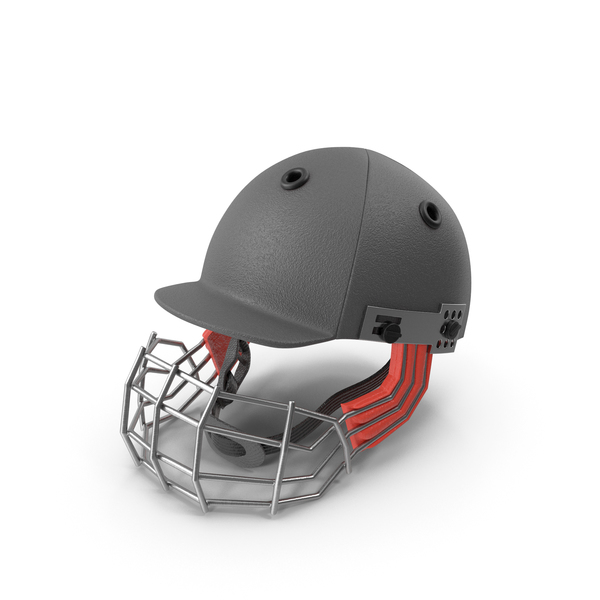 Cricket Helmet Black PNG & PSD Images