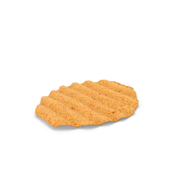 Crinkle Cut Wavy BBQ Potato Chip PNG & PSD Images