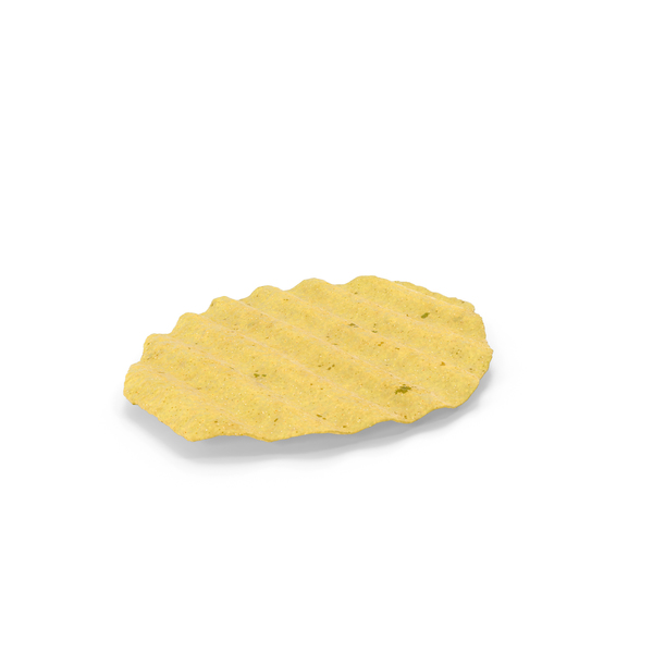 Crinkle Cut Wavy Potato Chip PNG & PSD Images