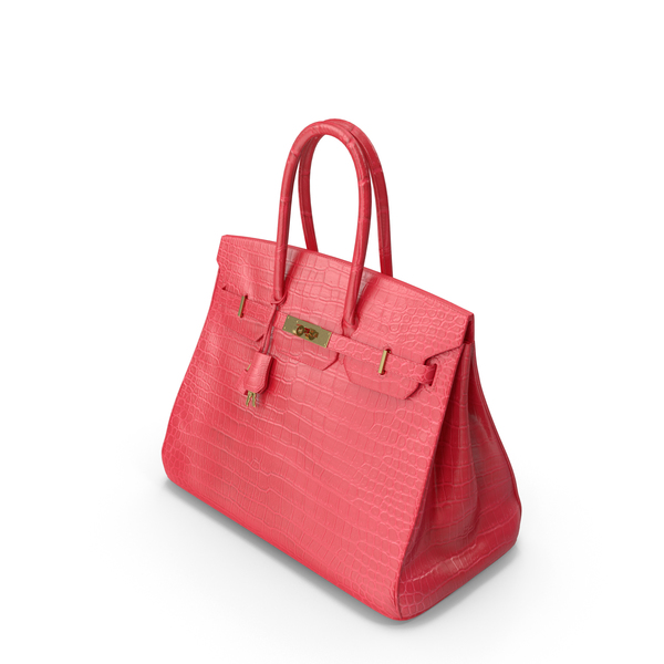 Crocodile Handbag Red PNG & PSD Images