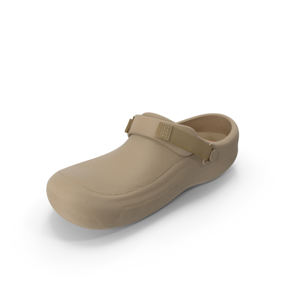 Sandals: Crocs Beige PNG & PSD Images