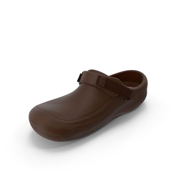 Crocs Brown PNG & PSD Images