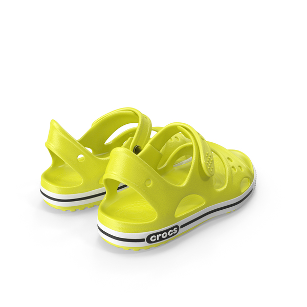Crocs Unisex Kids Sandals PNG & PSD Images