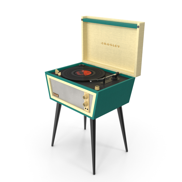 Crosley Dansette Turntable PNG & PSD Images
