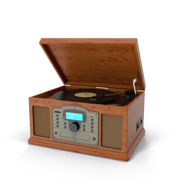 Crosley Turntable PNG & PSD Images