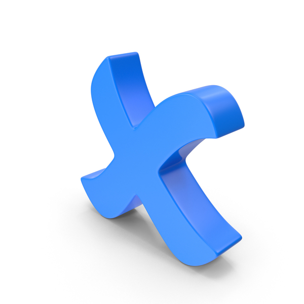 Cross Mark Blue PNG & PSD Images