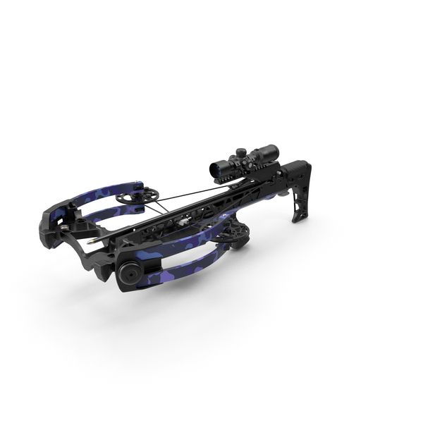 Crossbow Camo Generic with Arrow and Scope PNG & PSD Images