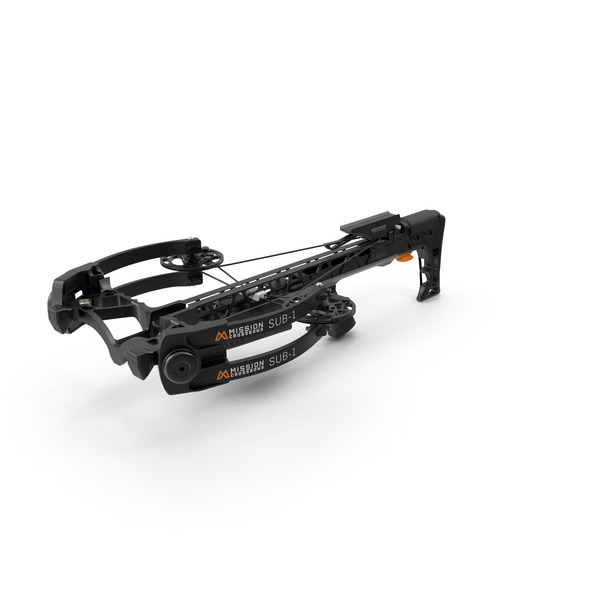 Crossbow Mission Sub-1 XR Black PNG & PSD Images