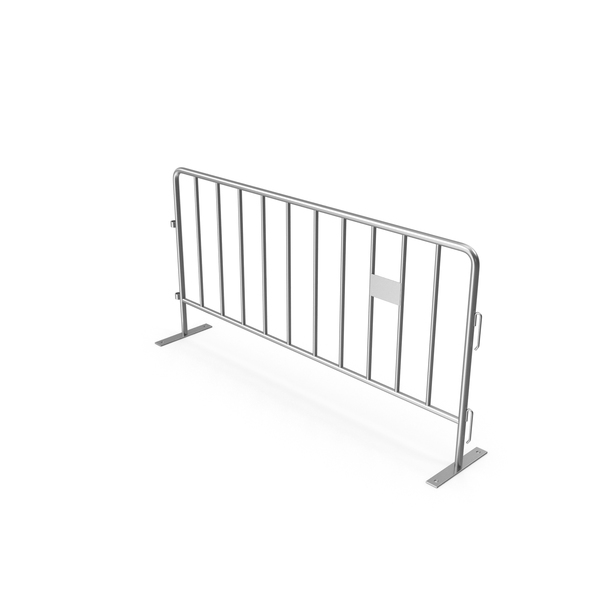 Crowd Barrier Chrome PNG & PSD Images