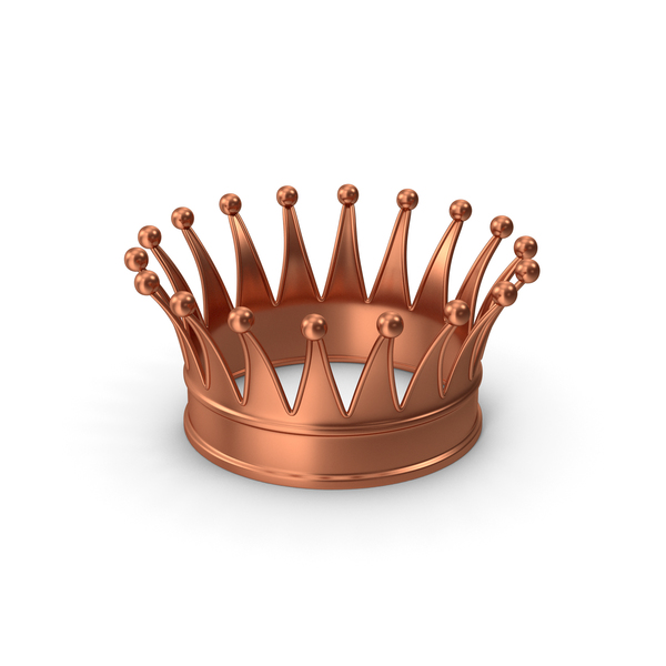 Royal: Crown Bronze PNG & PSD Images
