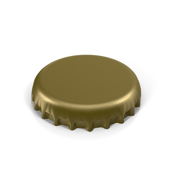 Crown Cork Bottle Cap PNG & PSD Images