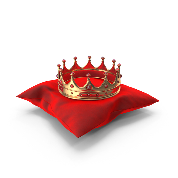 Bed: Crown on a Pillow PNG & PSD Images
