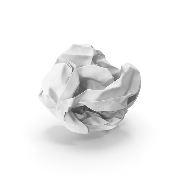 Crumpled Paper Ball PNG & PSD Images