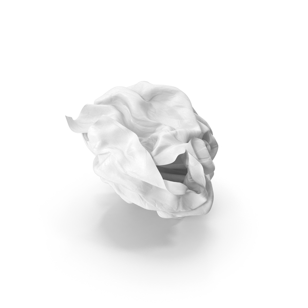 Crumpled Paper Clear PNG & PSD Images
