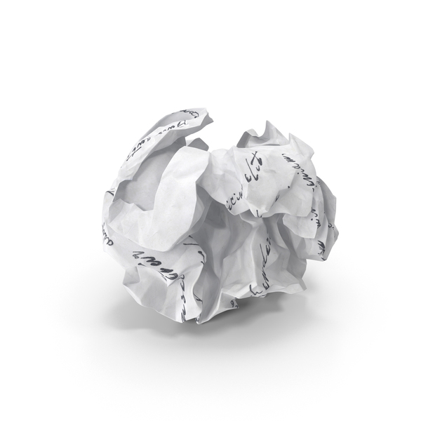 Crumpled Paper PNG & PSD Images