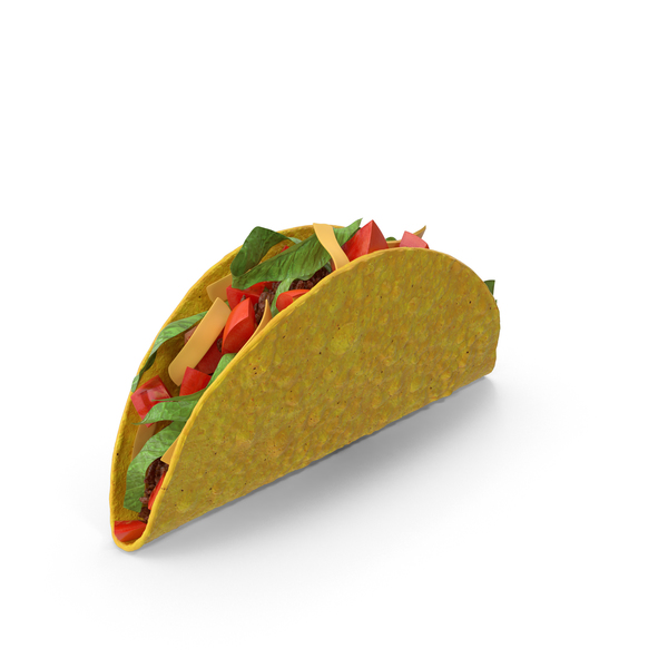 Crunchy Taco PNG & PSD Images